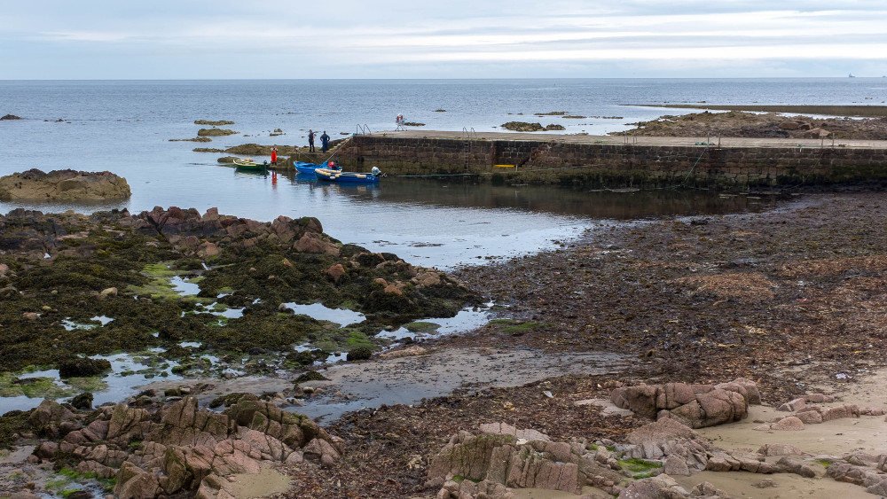Peterhead is 40 miles from Burnside Cottage